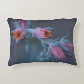 Succulent Flowers Decorative Pillow