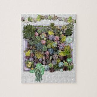 Succulent garden design jigsaw puzzle
