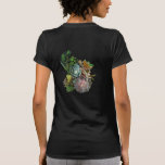 Succulent garden design tshirt