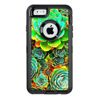 Succulent Garden OtterBox Defender iPhone Case