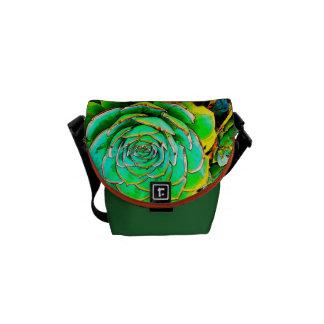 Succulent Garden Pop Art Small Messanger Bag