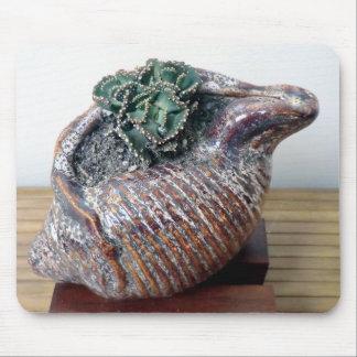 Succulent in Seashell Mousepad - Succulent Designs