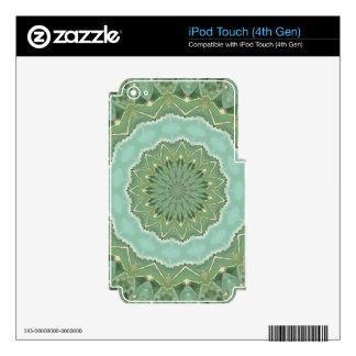 Succulent Mandala iPod Touch 4G Skin