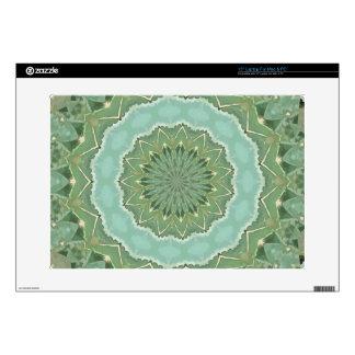 Succulent Mandala Skin For Laptop