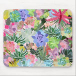 "Succulent Mouse Pad<br><div class=""desc"">Liven up you boring work space with this fun mouse pad!</div>"