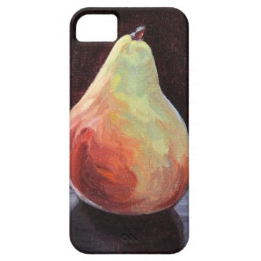 Beach Themed Succulent Pear iPhone SE/5/5s Case