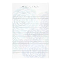 Succulent Personal Lined Writing Paper
