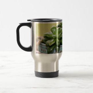 Succulent Plant Anacampseros Rufescens Sunrise Travel Mug