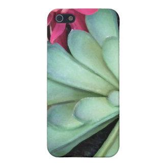 Succulent Plant & Flower iPhone Case