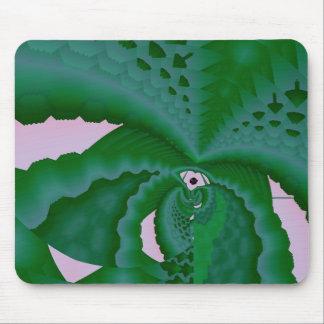 succulent plant mouse pad