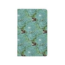 Succulent plant patterned Spiral Notebook