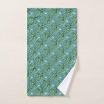 Succulent plant patterned Towel set
