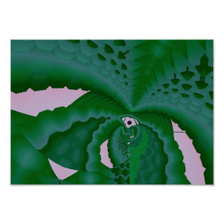 succulent plant poster