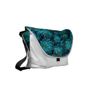Succulent Plants Small Messenger Bag
