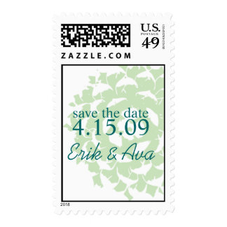 Succulent Save the Date Stamp