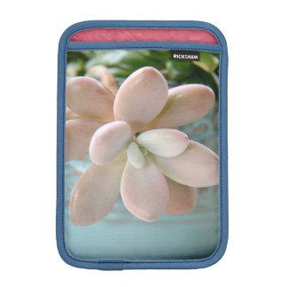 Succulent Sedum Pink Jelly Bean Plant Sleeve For iPad Mini
