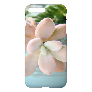 Succulent Sedum Pink Jelly Bean Plant iPhone 8 Plus/7 Plus Case