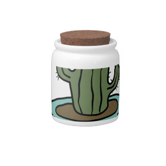 SUCCULENT shirts, accessories, gifts Candy Dishes