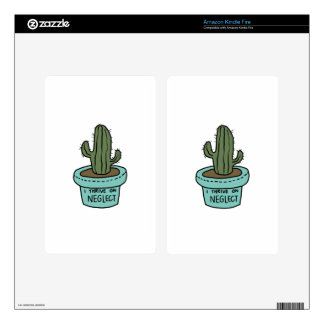 SUCCULENT shirts, accessories, gifts Skin For Kindle Fire