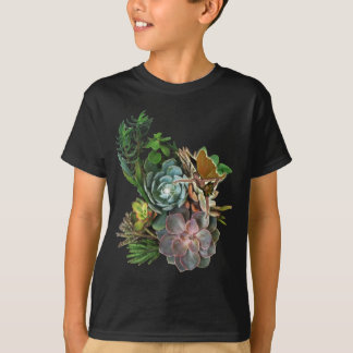 Succulent story on a T-Shirt