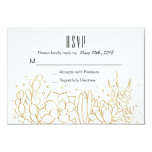 Succulent Terrarium Wedding Rsvp Card at Zazzle