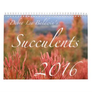 Succulents 2016 Calendar by Debra Lee Baldwin