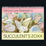 """Succulents 2021 Calendar<br><div class=""""desc"""">Twelve vibrant watercolors by Debra Lee Baldwin showcase the beauty and symmetry of succulent plants. Debra Lee Baldwin's Succulents 2021 Calendar is a perfect gift for gardeners and anyone who loves succulents. Enjoy these high-quality images for 365 days, then frame your favorites. This and Debra's previous watercolor calendars are collector's...</div>"""