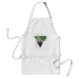succulents adult apron