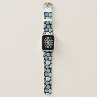 Succulents and Flowers Apple Watch Band