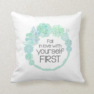 Succulents (caída en amor) - almohada