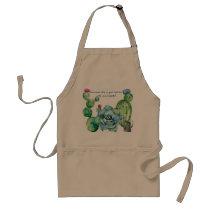 Succulents Gardening Apron! Adult Apron