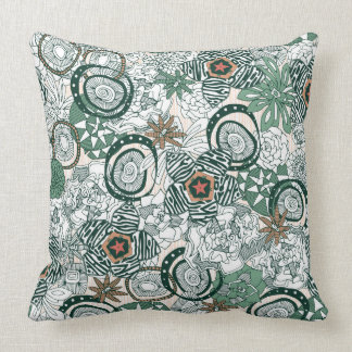 succulents limited throw pillow