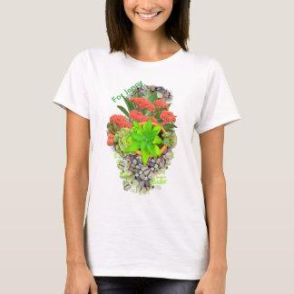 Succulents on garden pebbles T-Shirt