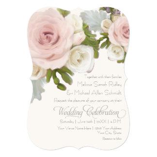 """Succulents subiós boda floral romántico lujoso invitación 5"""" x 7"""""""