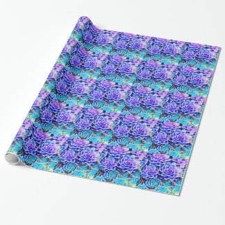 Succulents Wrapping Paper