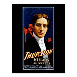 Sucesor de Thurston Kellar Postales