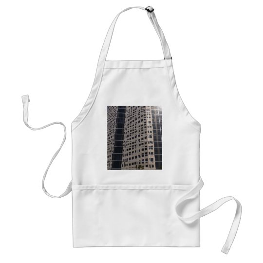 Sucess Business Skyscraper Shiny Window Art Adult Apron