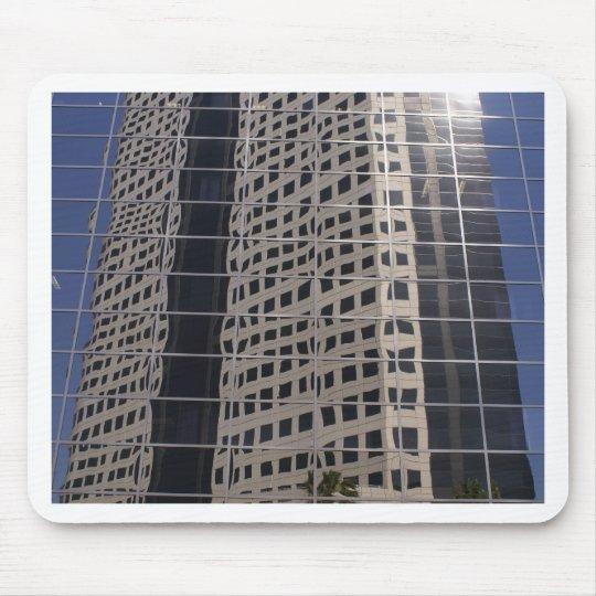 Sucess Business Skyscraper Shiny Window Art Mouse Pad