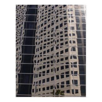 Sucess Business Skyscraper Shiny Window Art Postcard