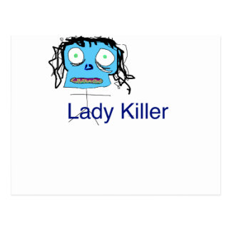 Such a Lady Killer Postcard