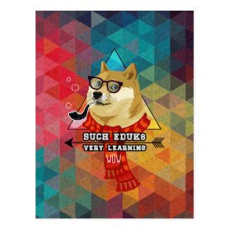 Such Doge Graduation Postcard