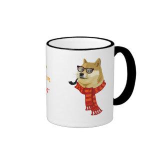 Such Hipster Doge Ringer Mug