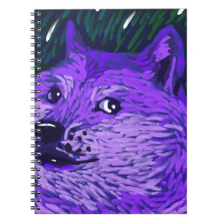 Such Moon, Many Star by Vincent van Doge Spiral Notebook