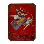 Suchard Chocolat Children with Ribbons Magnet