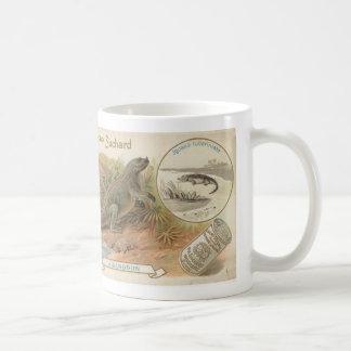 suchard iguanodon 1895 card coffee mug