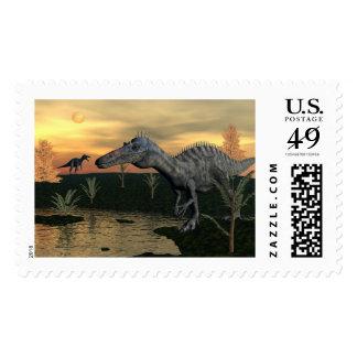 Suchomimus dinosaurs - 3D render Postage