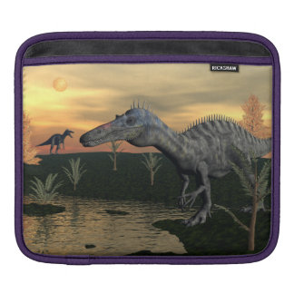 Suchomimus dinosaurs - 3D render Sleeve For iPads