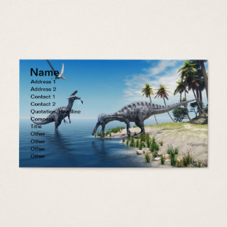Suchomimus Dinosaurs Business Card
