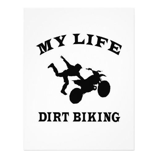 Suciedad Biking mi vida Plantillas De Membrete