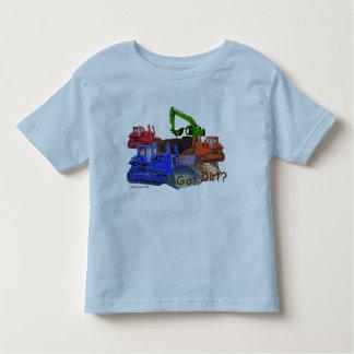 ¿Suciedad conseguida? Camiseta del niño Polera